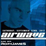 Rory James B2B w/AIRWAVE - Live @ Tammany Hall NYC + Rory James CLOSING SET  9.22.2012