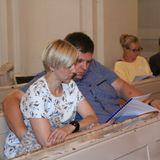 Narodowe czytanie Quo vadis w Pile - kościół Świętej Rodziny