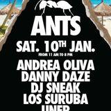 @unermusic Andrea Oliva b2b Uner @ Ants Party - BPM Festival 2015 10-01-15