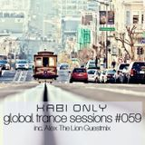 Xabi Only - Global Trance Sessions #059 (inc. Alex The Lion Guestmix) [12-12-2012]