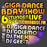 Giga Dance BDay Show 2013 @ TechnoBase.FM