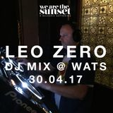 Leo Zero DJ set at We Are The Sunset's May Day Mayhem all-dayer 30.04.17