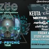 BMO Psych-O-Delic Bass Set w/ Zebbler Encanti Experience hosted by Daedric Records