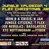 ikon b & crisis @ jungle xplosion 4 notts