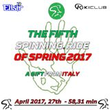The fifth Spinning® ride of Spring 2017 - a gift from Italy