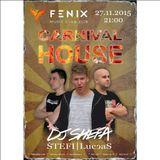 DJ SHEFA - CARNIVAL HOUSE Warmup - 27/11 - Zlín