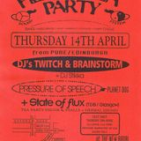 Pressure of Speech live at Herbal Tea Party, The New Ardri, Manchester on 14 April 1994