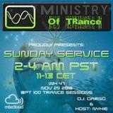 Uplifting Trance - Ministry of TRance Sunday service WK47 Nov 25 2018