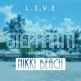 Nikki Beach Miami Sunday Brunch warm up  ( February 12th 2017 )