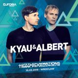 KYAU & ALBERT live at TRANCEFORMATIONS 2018 - EUFORIA FESTIVALS (2018-02-10)