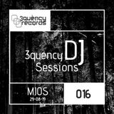3quency DJ Session 016 - MJOS Live Techno mix 29-08-19 1hr of Melodic techno