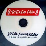 Dj Seba - STEREO -  3 YEAR ANNIVERSARY