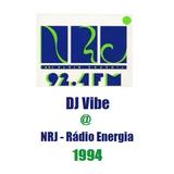 DJ Vibe @ Radio Energia 92.4FM #2 1994