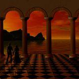 Surrealistic sunset