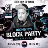 THE BLOCK PARTY (MIX 17) - KIIS 106.5FM by DJ QRIUS