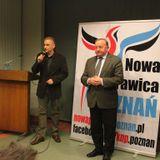 Stanisław Michalkiewicz w Poznaniu Nowa Prawica Poznań