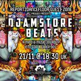 Djamstore Beats - 1989-1992 Proto Goa / Techno - Trance @ report2dancefloor Radio 11/2018
