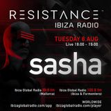 Sasha - Resistance, Ibiza Global Radio (08-08-2017)