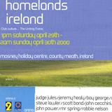 Scot Bond & Judge Jules at Homelands Ireland Mosney County Meath April 29th 2000