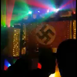 NAZI FLAG BURRA HALL DISCO BITS