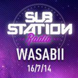 ● WASABII (Middleground) ● Set + entrevista en Substation Radio On Line ● JULIO 2014