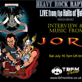 Heavy Rock Rapture July 16 feat Jorn Lande interview and music