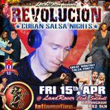 Revolución Cuban Salsa in Birmingham 2016-04-15