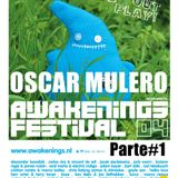 Oscar Mulero - Live @ Awakenings Festival, Holanda (03.07.2004) Parte#1