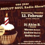 Absolut Soul / Radio Show /// 12.02.2015 / B-Day session