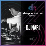 deephouse.com podcast 007 with DJ Nari