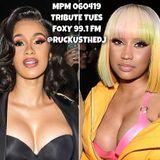 Midday Party Mix - Tribute Tuesday - Team Nicki vs Team Cardi - Foxy 99.1 FM