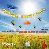 Emotional Trance ep.064(2016) Master dj