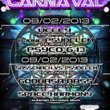 Dj Psydelem Vs. Djane Sassenach Psychedelic Carnaval
