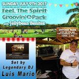Groovin' In The Park Set by Legendary DJ Luis Mario 7-9-17