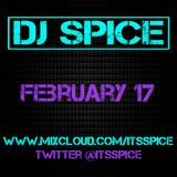 DJ SPICE FEBRUARY 2017 MIX