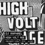 Dj Raphael pres. High Volt Age at We Are Various | 13-09-19