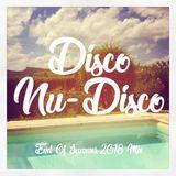 Disco/Nu-Disco - End of Summer 2018 Mix