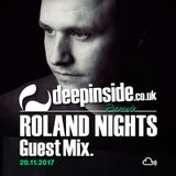 ROLAND NIGHTS is on DEEPINSIDE #02