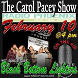 The Carol Pacey Show with special guest, Black Bottom Lighters, Feb 10, 2018