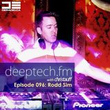 Rodd Sim- Deeptech Radio show with Christauff 10/16/14 deeptech.fm