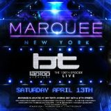 BT - Live @ the Marquee, NYC (13.04.2013)