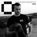 Culture Box Podcast 075 – RDG