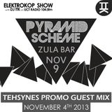 TehSynes - Guest Mix for #ELEKTROKOPSHOW with TTK on UCT Radio 104.5 FM ((04/11/2013)