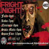 FRIGHT NIGHT RADIO 7/7/17....ROKO LIVE...(Tracklist & D/L)...