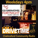 Thursday Drivetime - @CCRDrivetime - Emily Graves - 26/06/14 - Chelmsford Community Radio