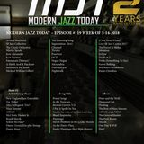 Modern Jazz Today - Episode #119 - The Week of May 14, 2018