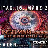 Insomnia 3000 by DJ Phoenix @ Artheater - Cologne - 16.03.2018