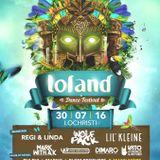 dj Biool @ Loland Festival - House of Bull stage 30-07-2016