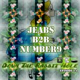 Jeabs b2b Number9 - Down the Rabbit Hole - Episode 014