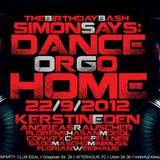KERSTIN EDEN @ SIMON SAYS: Dance or go Home! 22/9/2012